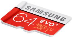 Samsung EVO+ microSDXC 64GB UHS-I Class 10 MB-MC64D