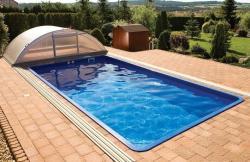 Wellis Korinthos úszómedence, gépészet nélkül 620x310x140cm (EM00008)