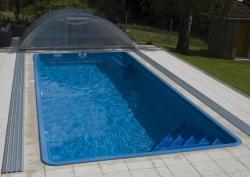 Wellis Royal úszómedence, gépészet nélkül