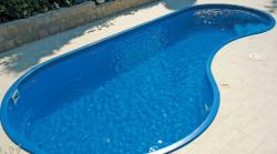 Wellis Madeira úszómedence, gépészet nélkül 750x350x140cm
