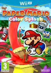 Nintendo Paper Mario Color Splash (Wii U)