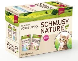 Schmusy Nature Kitten Multibox 12x100g