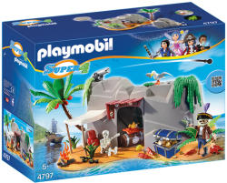Playmobil Super 4 Pestera Piratilor (PM4797)
