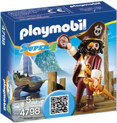 Playmobil Super 4 Piratul Cu Barba (PM4798)