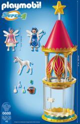 Playmobil Super 4 Turnul floare al zanelor (PM6688)