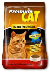 Premium Cat Beef Dry Food 10kg