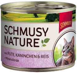 Schmusy Nature Turkey & Rabbit Tin 190g