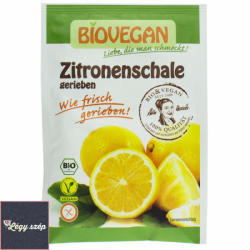 BIOVEGAN Bio reszelt citromhéj 9g