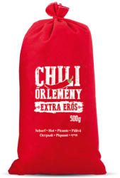 CHILI-TRADE Chili őrlemény vászonzsákban, extra erős 500g