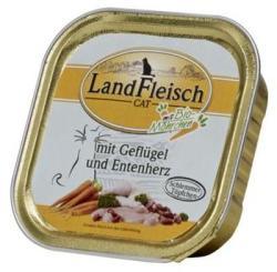 LandFleisch Poultry & Duck Heart 100g