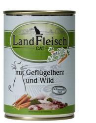 LandFleisch Poultry Heart & Venison 400g
