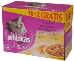 Whiskas Adult Poultry 12x100g