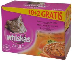 Whiskas Adult Meat 12x100g