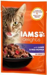 Iams Delights Lamb & Red Pepper 85g