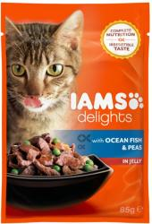 Iams Delights Ocean Fish & Peas 85g