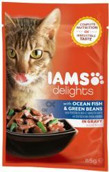 Iams Delights Ocean Fish & Green Beans 85g