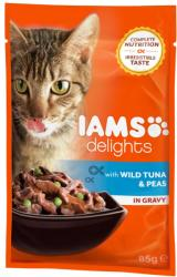 Iams Delights Tuna & Peas 85g