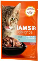 Iams Delights Tuna & Herring 85g