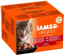 Iams Delights Multipack 24x85g