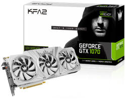 KFA2 GeForce GTX 1070 Hall of Fame Edition 8GB GDDR5 256bit PCIe (70NSH6DHL2SK)
