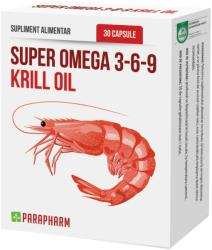Parapharm Super Omega 3-6-9 Krill Oil - 30 comprimate