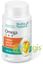 Rotta Natura Omega 3-6-9 - 30 comrpimate