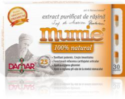 Damar General Trading Mumie natural - Extract purificat de rasina - 30 comprimate