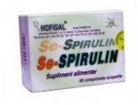 Hofigal Se-Spirulina - 40 comprimate
