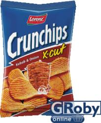 Lorenz Crunchips kebab-hagyma ízű 75g