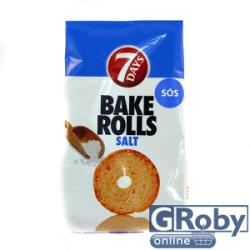 7 Days Bake Rolls sós 90g