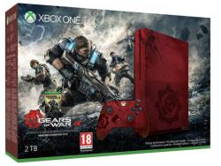 Microsoft Xbox One S (Slim) 2TB Limited Edition + Gears of War 4