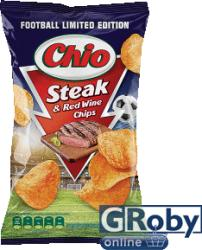 Chio Steak & red wine chips 140g