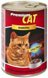 Premium Cat Beef Tin 415g