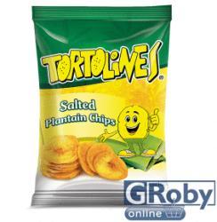 Tortolines Sós zöldbanán chips 100g