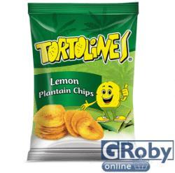 Tortolines Citromos zöldbanán chips 100g