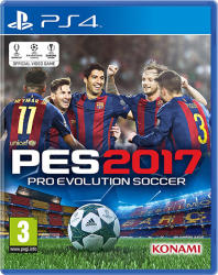 Konami PES 2017 Pro Evolution Soccer (PS4)