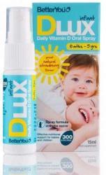 BetterYou DLux Infant D3-vitamin 300 IU szájspray - 15ml
