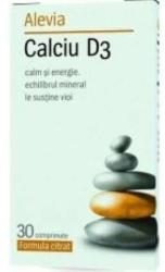 Alevia Calciu D3 - 30 comprimate