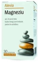 Alevia Magneziu Formula Citrat - 30 comprimate