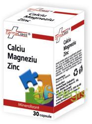 FarmaClass Calciu-Magneziu-Zinc - 30 comprimate