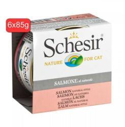Schesir Natural Salmon 6x85g