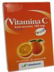 Amniocen Vitamina C 100mg - 20 comprimate