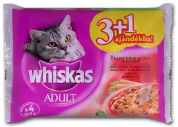 Whiskas Adult Meat 4x100g
