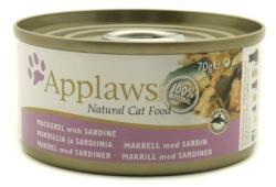 Applaws Mackerel & Sardine Tin 70g