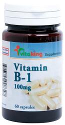 Vitaking Vitamina B-1 100mg - 60 comprimate