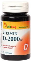 Vitaking Vitamina D3 D-2000IU - 90 comprimate