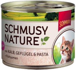 Schmusy Nature Kitten Veal & Poultry 190g