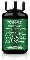 Scitec Nutrition Euro Vita-Mins - 120 comprimate