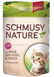Schmusy Nature Kitten Veal & Poultry 100g