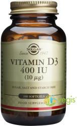 Solgar Vitamin D3 400UI - 100 comprimate